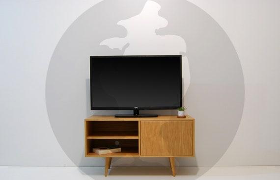 Metà secolo Media Console, porta Tv, madia, Design scandinavo, Retro Console