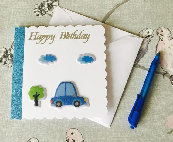 Happy Birthday Card Fun Car Lovers Cards For