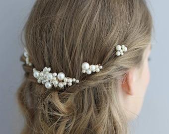 Tin de Pins-shirt//Bridal Pearl Head