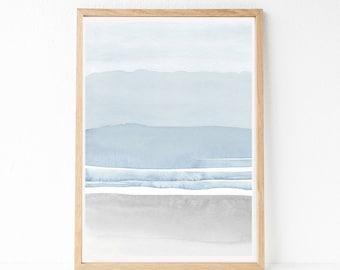 24x36 PRINTABLE Wall Art, Watercolor Print, 24x36 Abstract Printable Art, Large Wall Art, 24x36 Print, Large Living Room Art