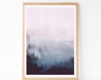 OVERSIZED Print, Large Watercolor PRINTABLE Art, Large Wall Art, 30x40 Print, 30x40 Printable Art, 24x36 Abstract Printable Art, Abstract