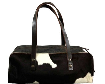 60c0883f0217 MIU MIU S/S 1998 Baguette Cow Hide Denim Leather Baguette Shoulder Bag