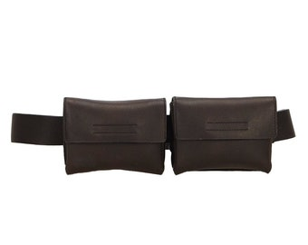 fb00b8ac32ff SOLD PRADA 1999 S S Leather Waist Bag
