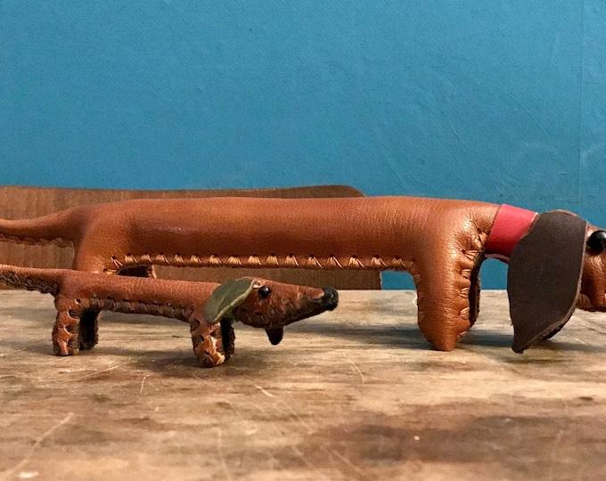 Leather Dachshund