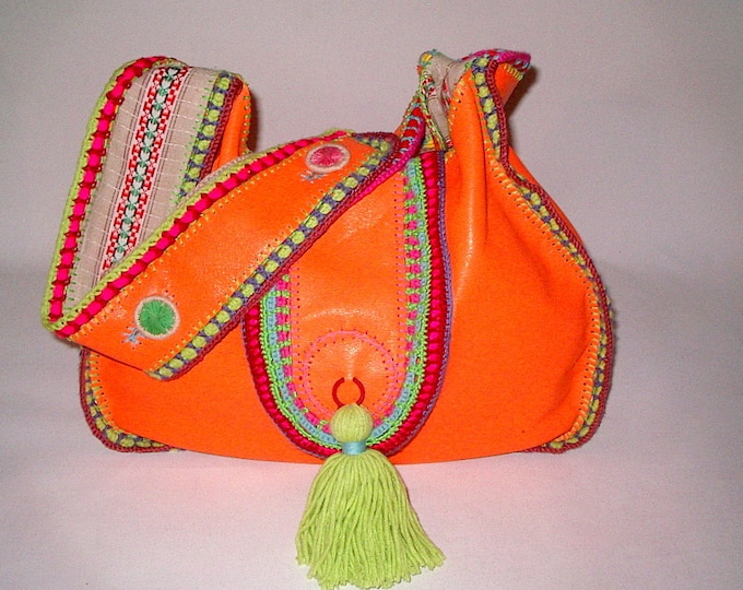 "XL Hippie Bag ""Big summerlove"""