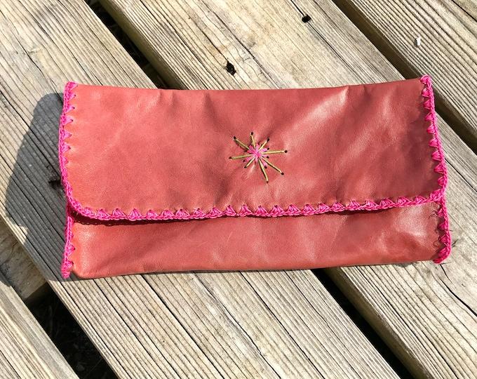 """Makeup bag pencil case pouch """"springtime"""""""