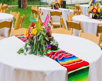 Six Pack Mexican Linen, Table Runner,Mexican Table Runners,ethnic Table  Runners, Mexican Decor, Ethnic,cinco De Mayo, Mexican Wedding,shower
