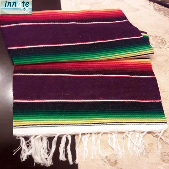 Serape 60 long Mexican wovenfurniture  054f1fc854ef