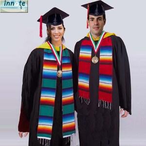 Mexican Graduation Stole Class of 2021 Hispanic Graduation Sarape Sash Scarf