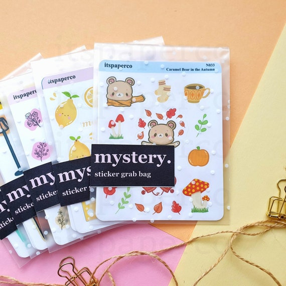 Mystery Grab Bag of Planner Stickers