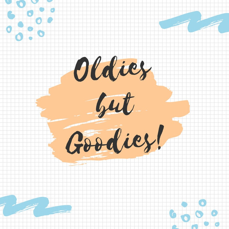 Oldies but Goodies // Decorative Stickers, Bullet Journal Stickers, Planner  Stickers, Mystery stickers