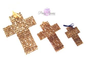 10 pcs pack / Cross Padre Nuestro/ Our Lord Prayer Spanish