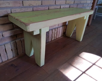 From own carpentry: old wood benches in Wünschanfertigungen and dimensions from 60 to 300 cm! robust & heavy for indoor and outdoor