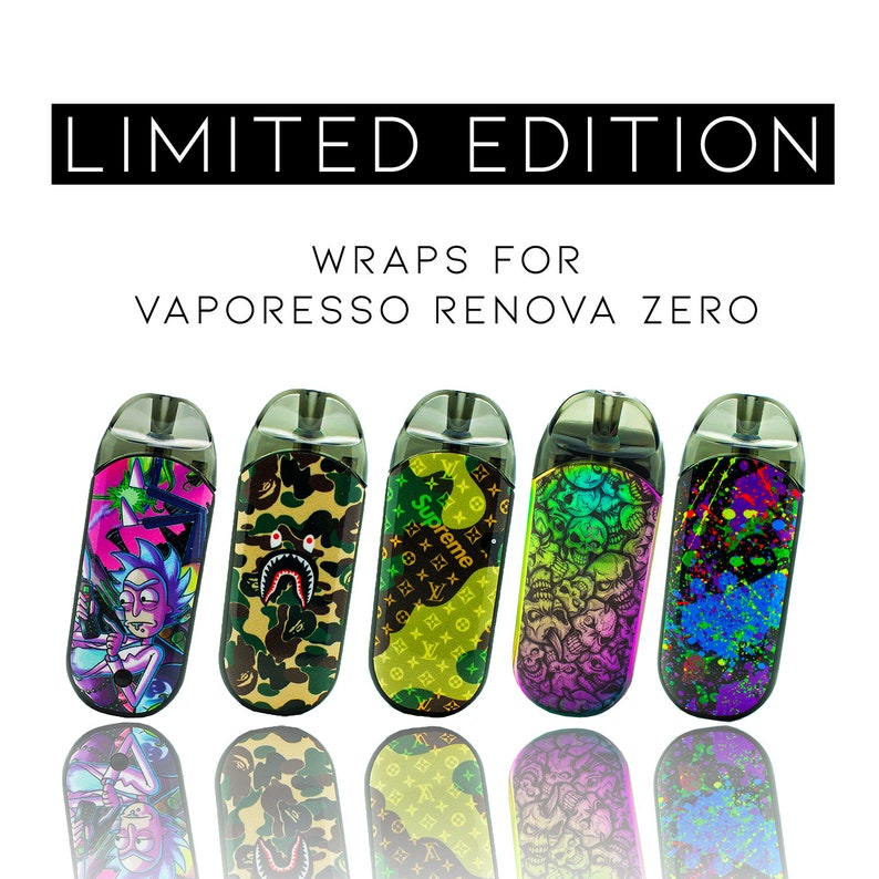 Custom Skin Decal for Vaporesso Zero Renova (Decal Only, Device is Not  Included) - Vinyl Wrap Protective Sticker by VCG Customs