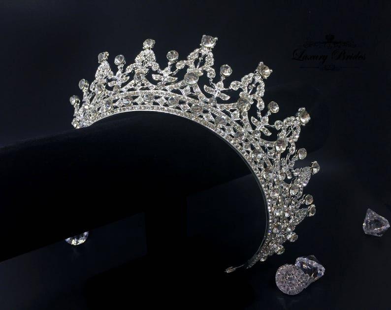 c738b59a8737 Bridal Tiara Swarovski Crystal Tiara Princess Tiara Wedding