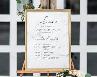 marble welcome sign etsy