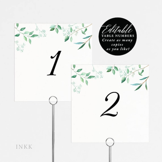 photo about Printable Table Numbers referred to as Rustic Marriage ceremony Desk Quantities Printable, Desk Selection Template, Folded Tent Card, Flat Card, Editable Desk Quantity Card PDF Template #E031