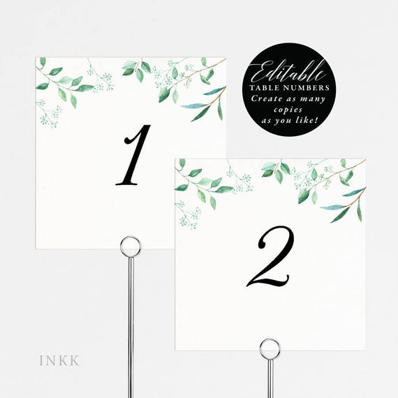 Magnificent Rustic Wedding Table Numbers Printable Table Number Template Folded Tent Card Flat Card Editable Table Number Card Pdf Template E031 Download Free Architecture Designs Embacsunscenecom