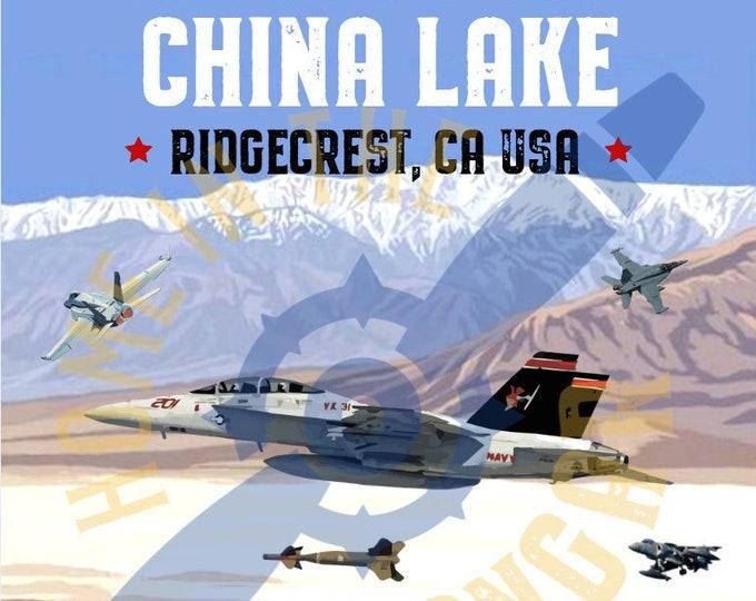 Fly to China Lake