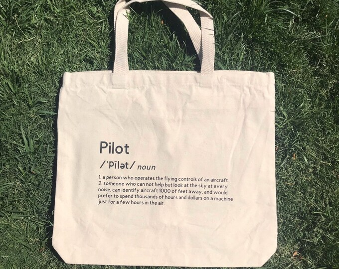 Large Tote with Definition