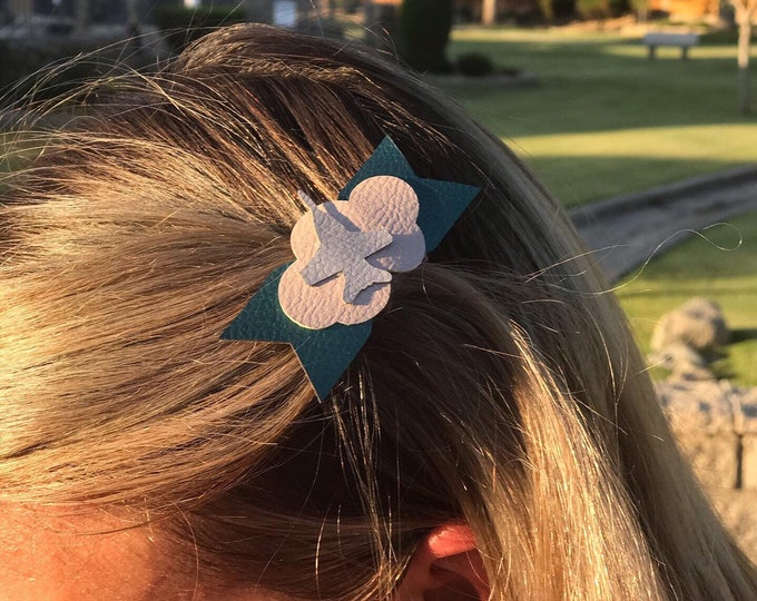 Jet cloud barrette