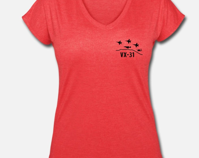 VX 31 Spouse V-neck neck shirt