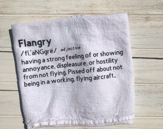 Flying Definition Tea Towels