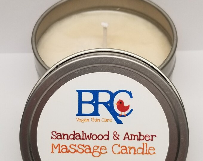 Vegan Soy Wax Massage Candle