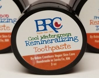 Vegan Remineralizing Toothpaste