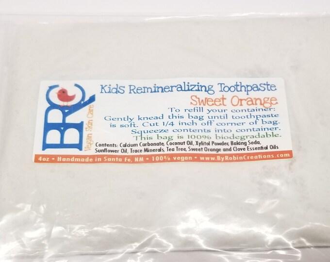 Vegan Kid's Remineralizing Toothpaste