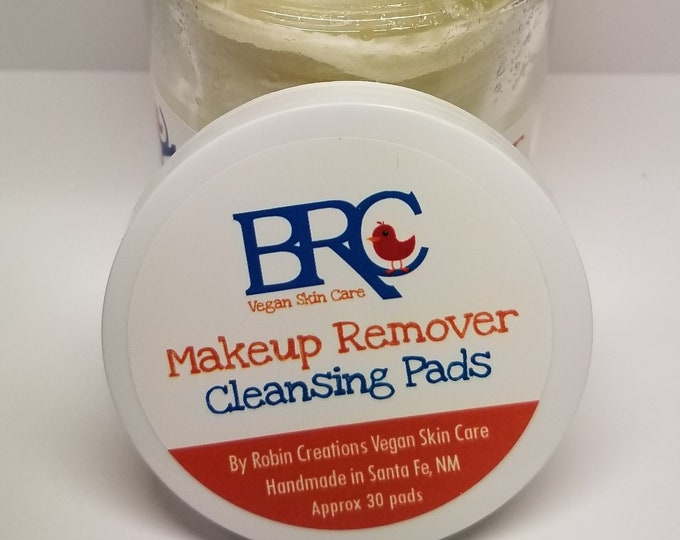 Vegan Makeup Remover Cleansing Pads