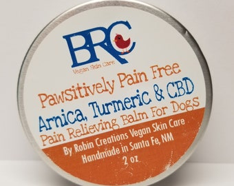Vegan Pain Relieving Balm For Dogs