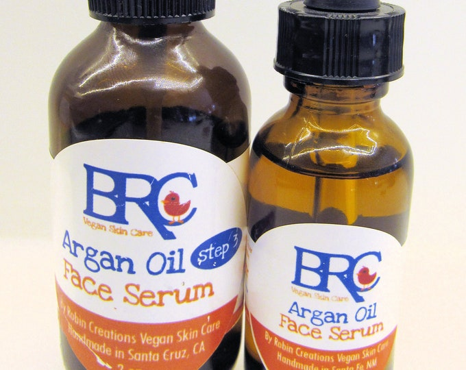 Vegan Argan Oil Face Serum