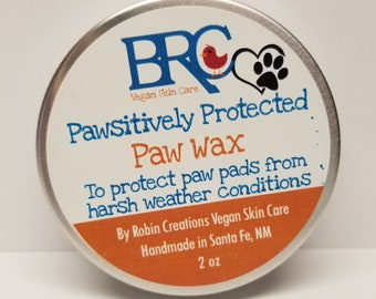 Vegan Paw Protection Wax