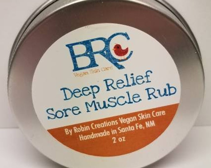 Vegan Deep Relief Sore Muscle Rub