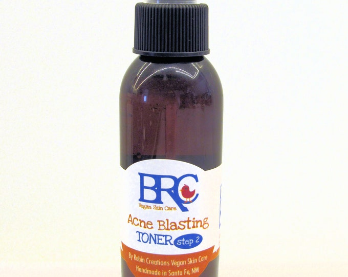Vegan Acne Toner Spray