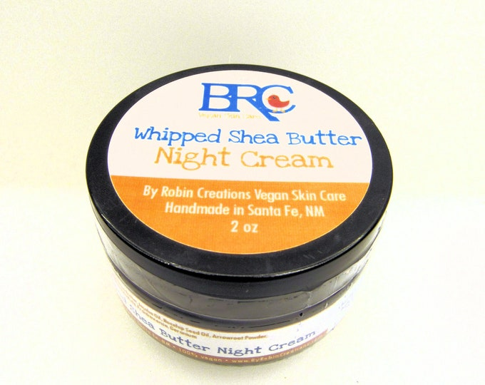 Vegan Whipped Shea Butter Night Cream