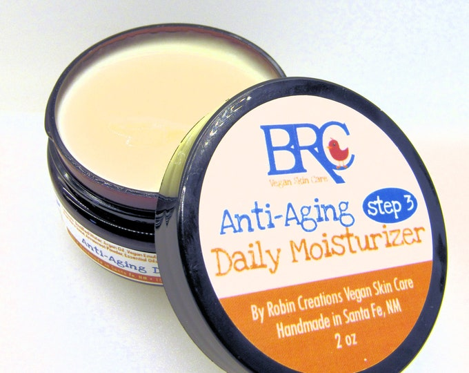 Vegan Anti-Aging Daily Face Moisturizer