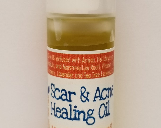 Vegan Scar & Acne Healing Oil