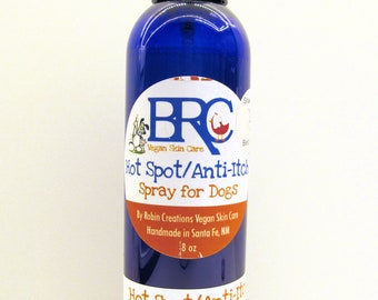 Vegan Anti-Itch and Hotspot Spray for Dogs