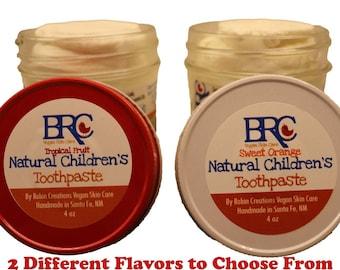 Vegan Kid's Remineralizing Toothpaste - Vegan Toothpaste, Children's Toothpaste, Natural Toothpaste, Vegan Oral Care, Cavities, Zero Waste