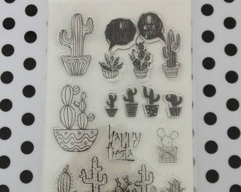 Clear stamps CACTUS