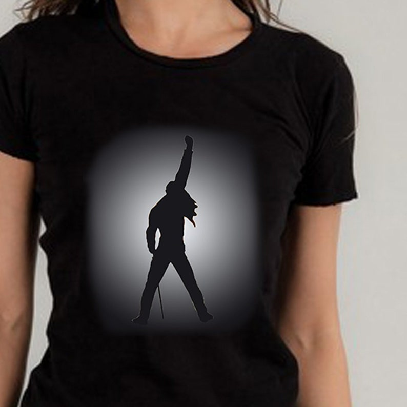 be9413b97 Freddie Mercury Shirt Queen Tribute Premium Tee Bohemian | Etsy