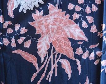 Batik Cotton Sarong Fabric Gorgeous Fully Handmade Indonesian Batik Kain and Selendang (Scarf) Tulis from Pekalongan
