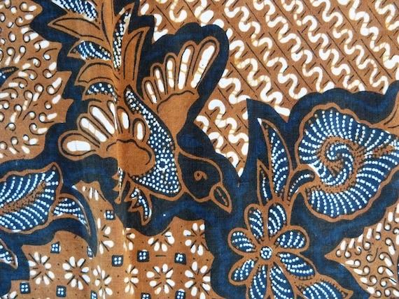 Fully Handmade Indonesian Batik Kain Tuli from Madura