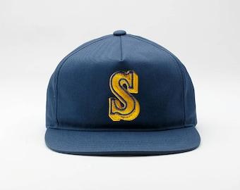 big sale f04c7 a8d26 Seattle Mariners Hat - Vintage Mariners Hat   Vintage Seattle Mariners    Retro Mariners Hat   Seattle Hat   Vintage Seattle Mariners Hat