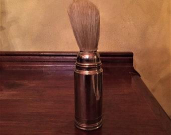 Vintage Shaving Brush w/ Travel Tube