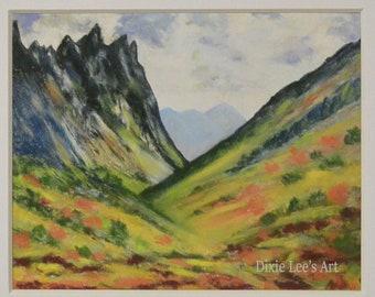 Art Print, Landscape, Gift, Nature, Mountains