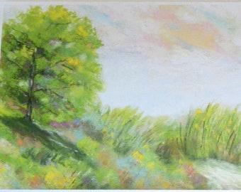 Greeting Card, Woodland, Bright Notecard,