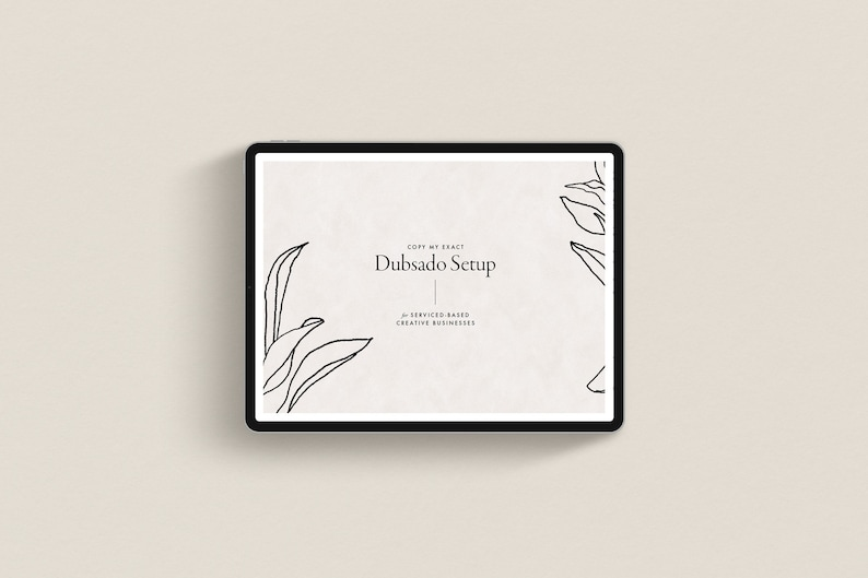 Copy my Dubsado Process  For Service-Based Creative image 0